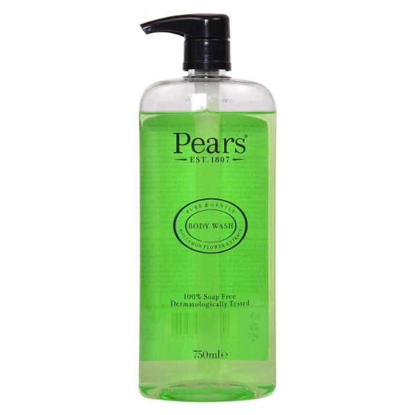 Pears Pure & Gentle Body Wash Lemon Flow Extract